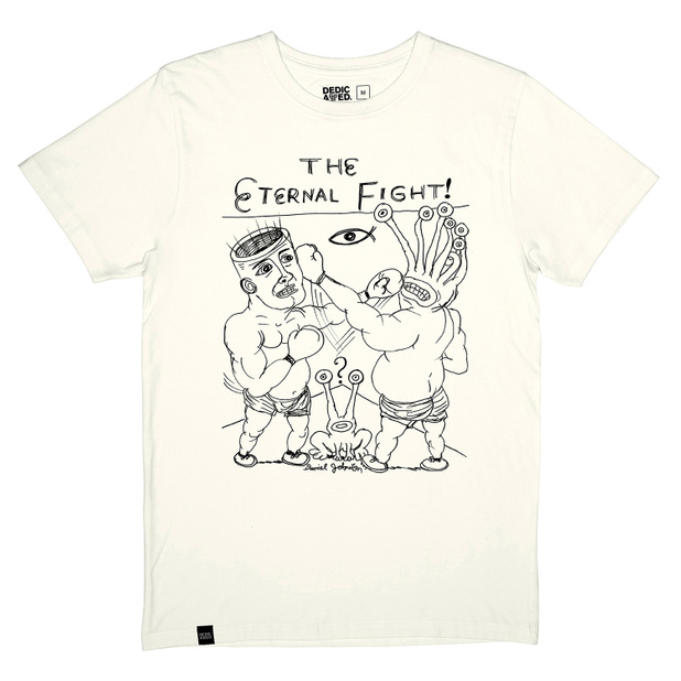 T-shirt Stockholm Eternal Fight Off White