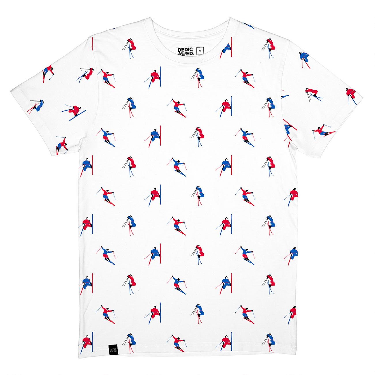 T-shirt Stockholm Jump Pattern