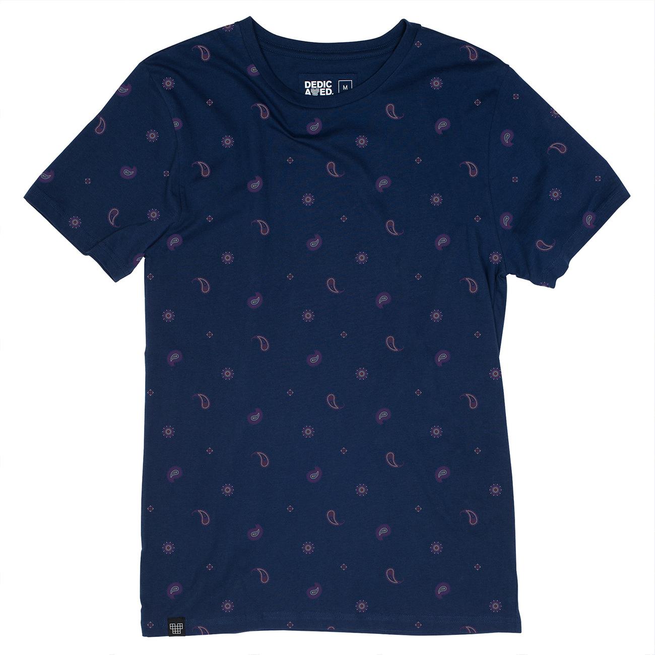 T-shirt Stockholm Paisley Navy