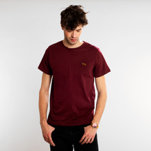 T-shirt Stockholm Stitch Bike Burgundy