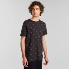 T-shirt Stockholm Bike Pattern Charcoal
