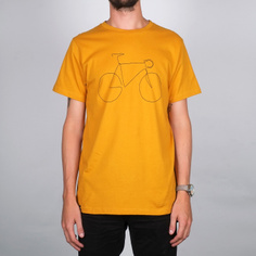 T-shirt Stockholm Bicycle Mustard