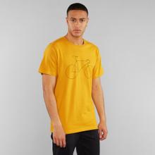 T-shirt Stockholm Bicycle Mustard