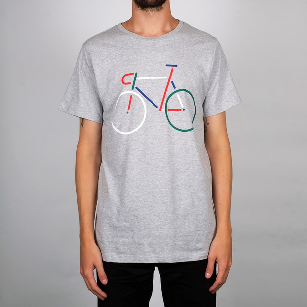 T-shirt Stockholm Color Bike