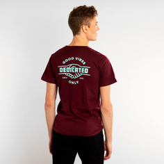 T-shirt Stockholm Good Hands Burgundy