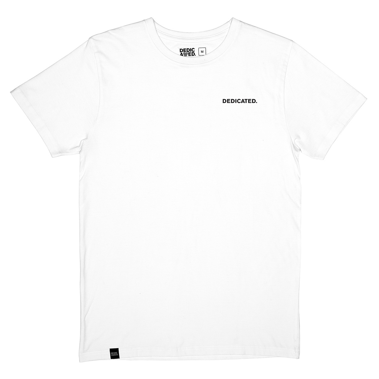 T-shirt Stockholm Dedicated Logo White