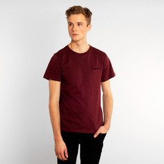 T-shirt Stockholm Dedicated Logo Burgundy