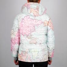 Puffer Jacket Boden Map