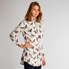 Shirt Fredericia Autumn Birds Off-White