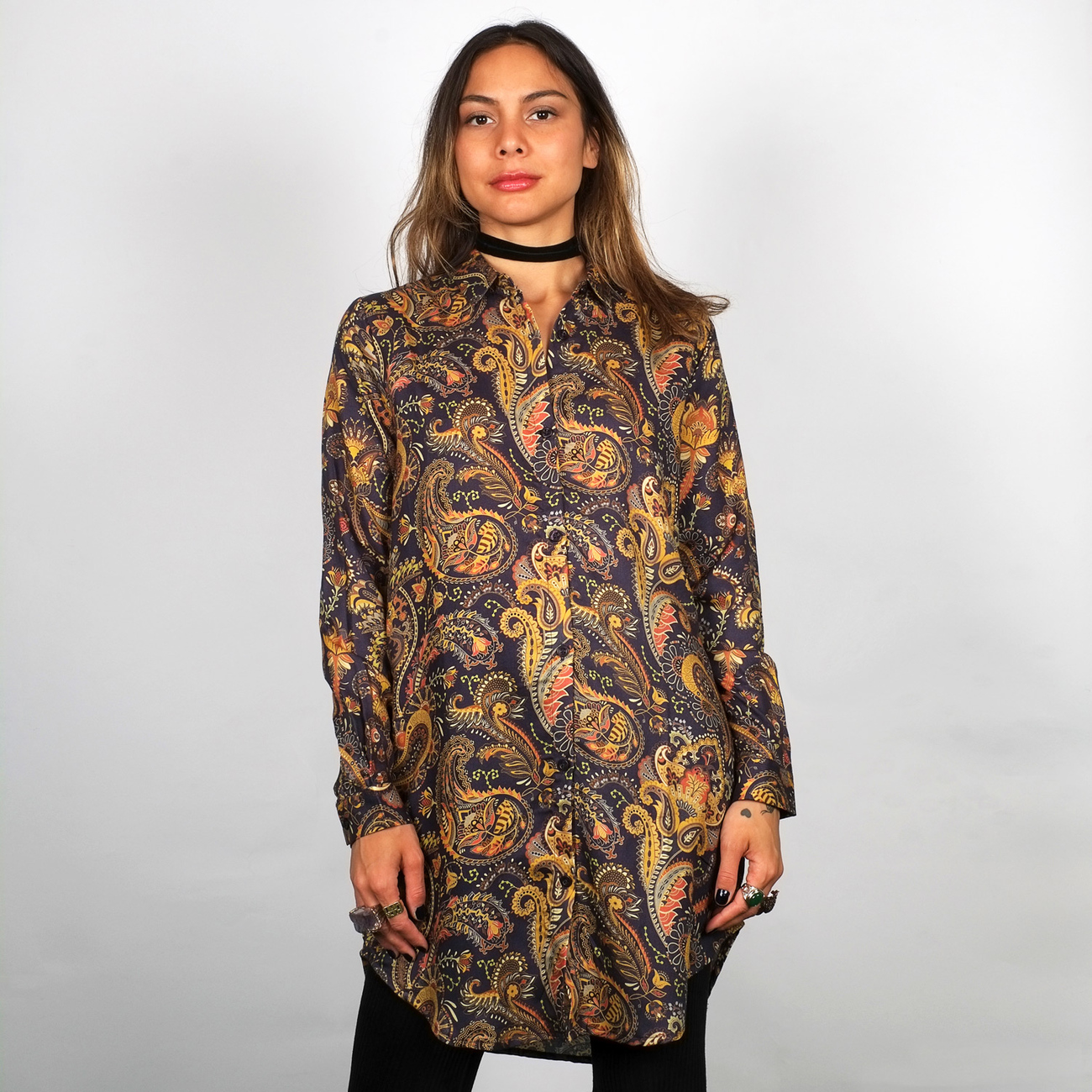Shirt Fredericia Bold Paisley