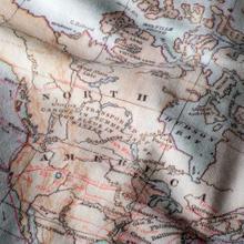Sweatshirt Ystad Map