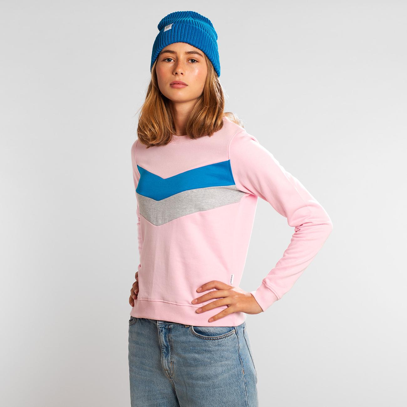 Sweatshirt Ystad Arrow Split Sweet Lilac