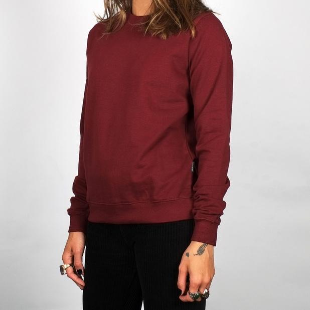 Sweatshirt Ystad Burgundy