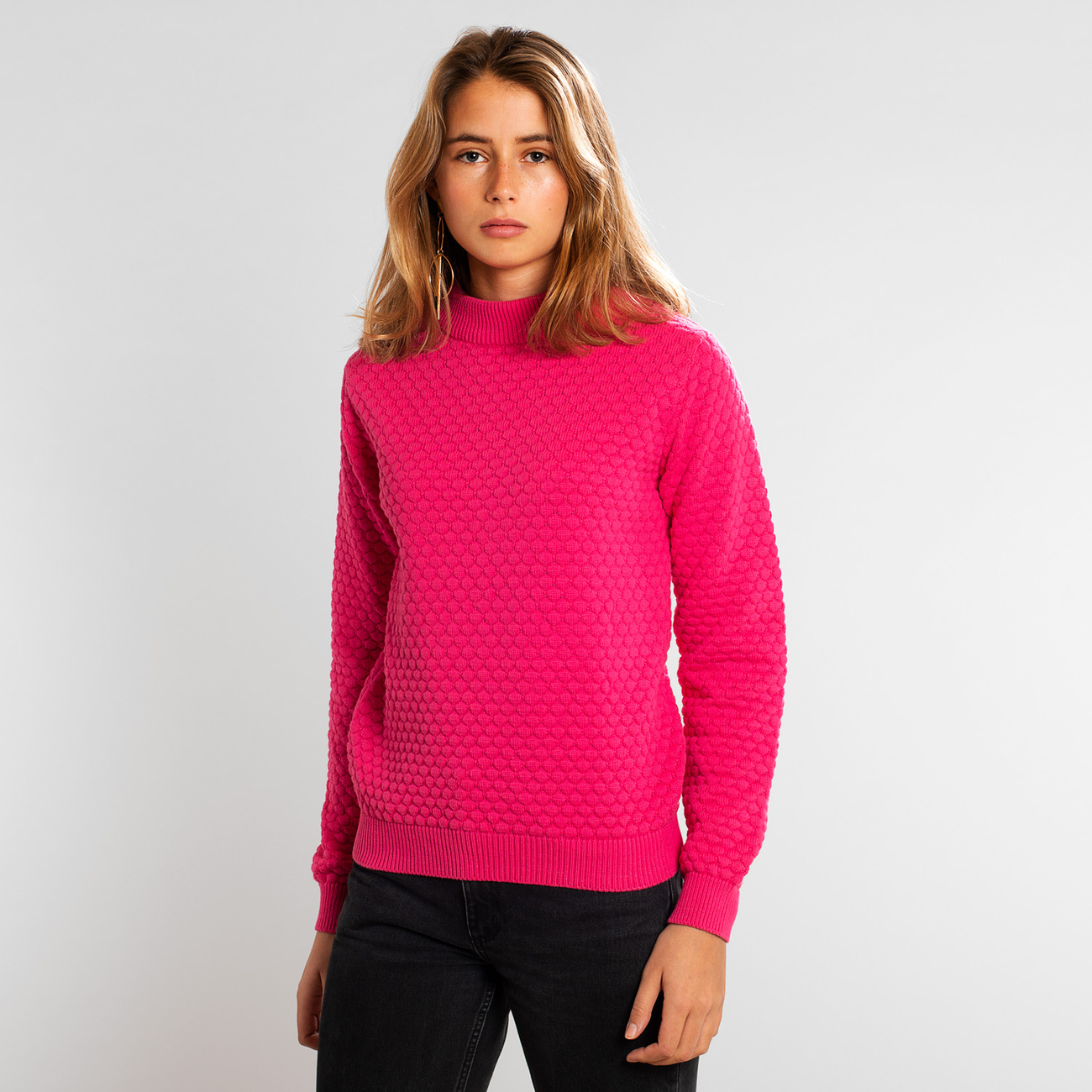 Sweater Viborg Bubble Magenta