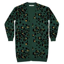 Cardigan Idre Lynx Green