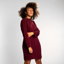 Dress Vilhelmina Burgundy