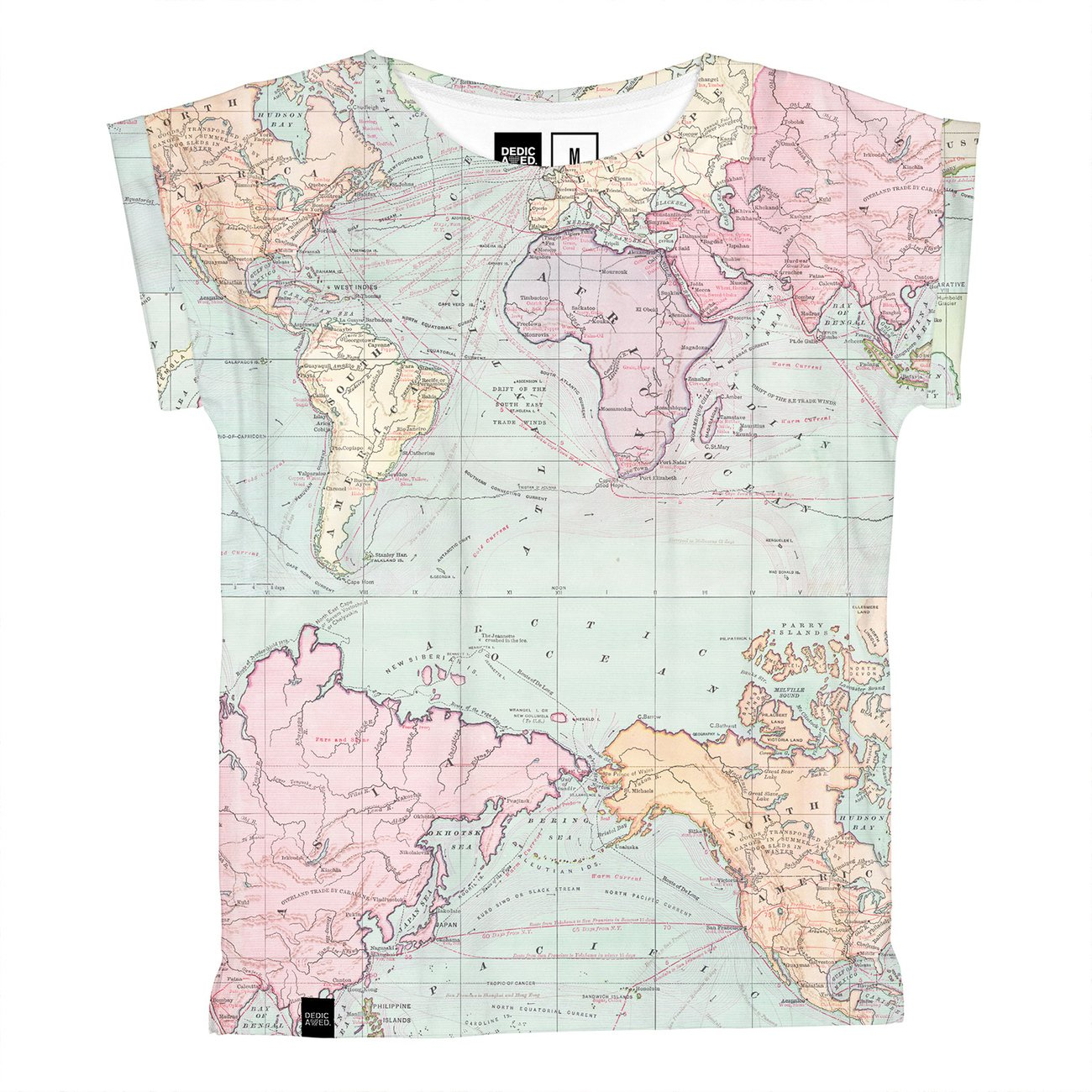 T-shirt Visby Map