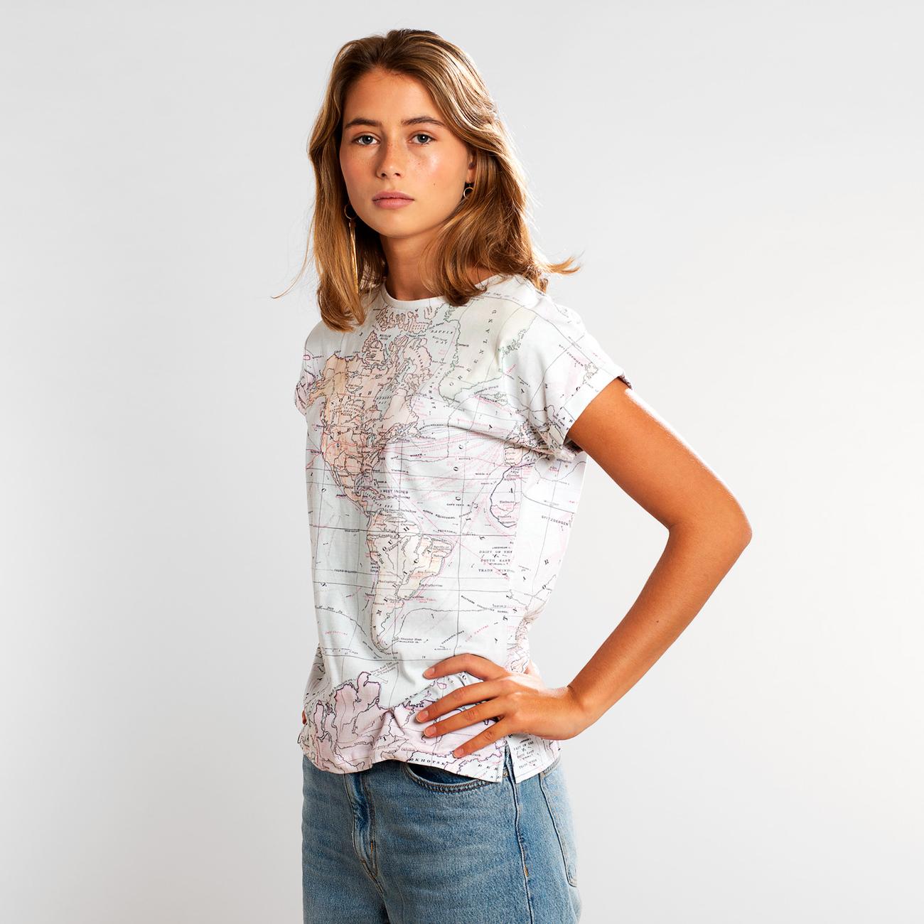 T-shirt Visby Map
