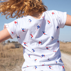 T-shirt Visby Jump Pattern