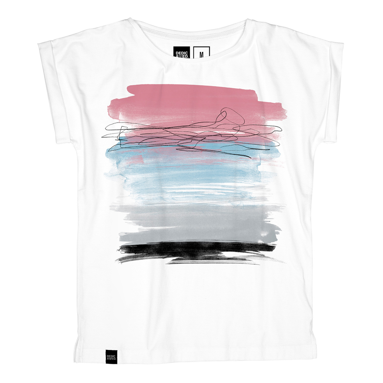 T-shirt Visby Paint Horizon