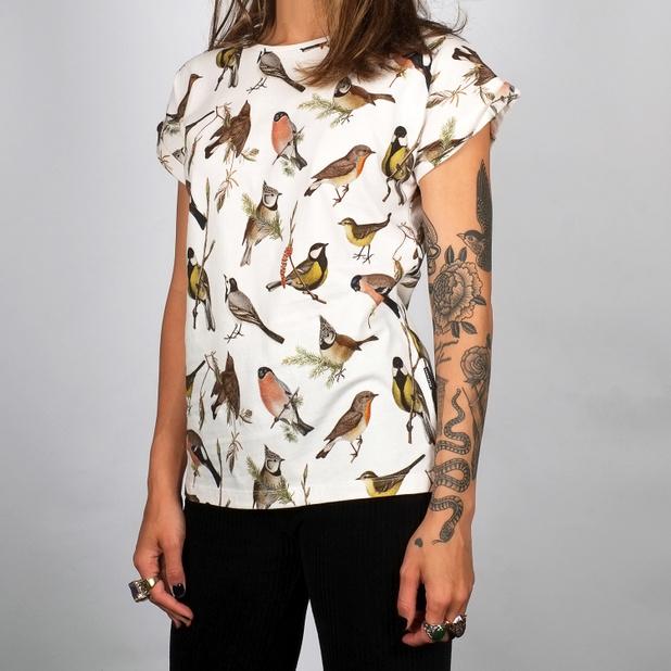 T-shirt Visby Autumn Birds
