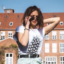 T-shirt Visby Svart Feather