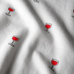 T-shirt Visby Wine Glasses