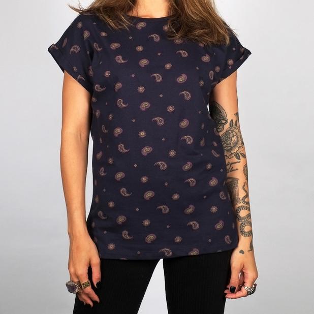 T-shirt Visby Paisley