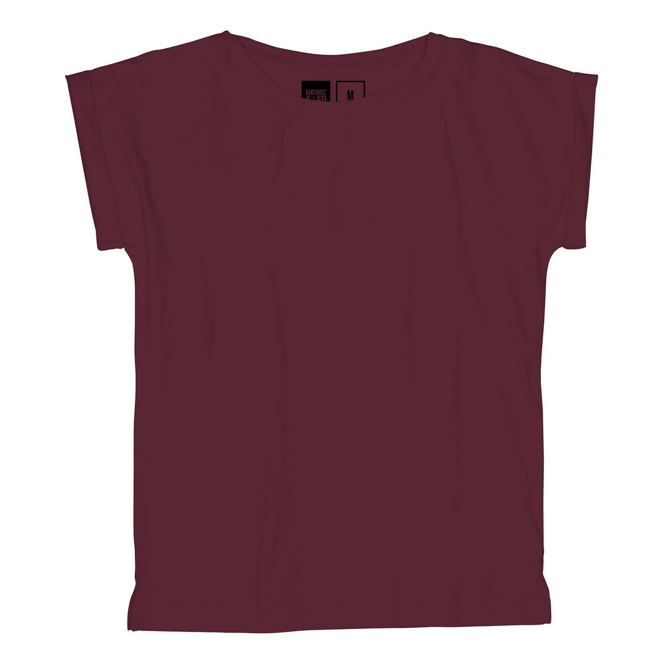T-shirt Visby Vinröd