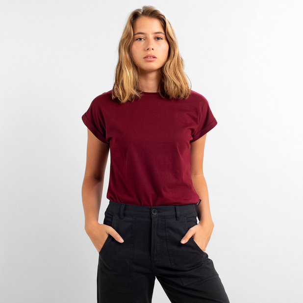 T-shirt Visby Base Burgundy