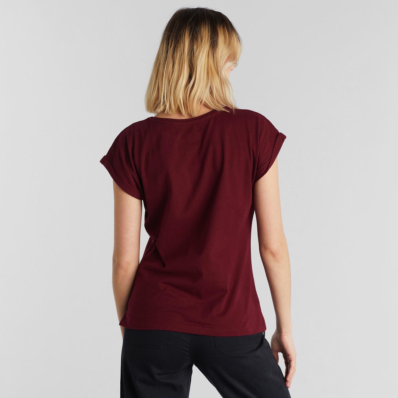 T-shirt Visby Base Burgundy