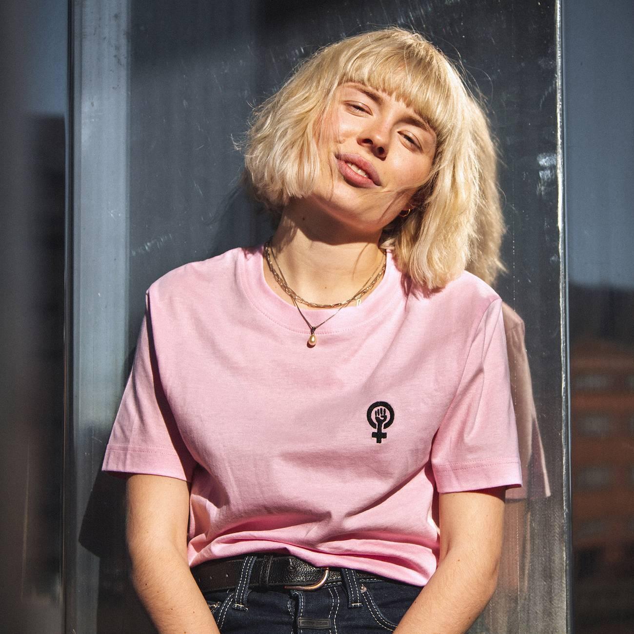 T-shirt Mysen Venus Sweet Lilac