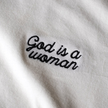 T-shirt Mysen God is a Woman Off-White