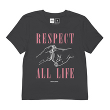 T-shirt Mysen Respect Life Charcoal
