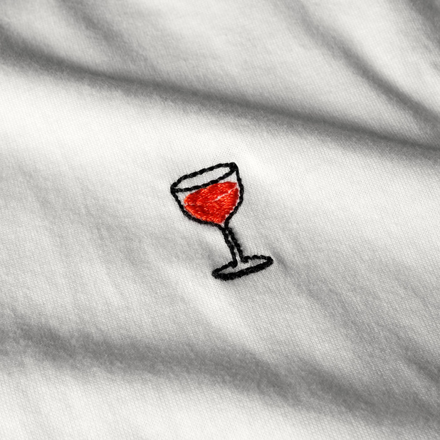 T-shirt Mysen Wine Glass