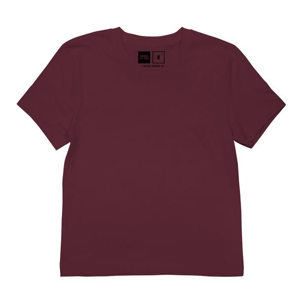 T-shirt Mysen Base Burgundy