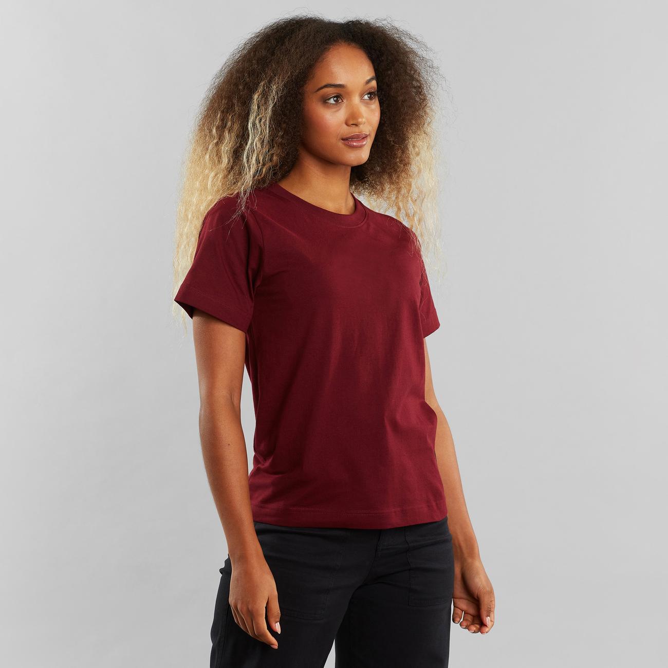T-shirt Mysen Vinröd
