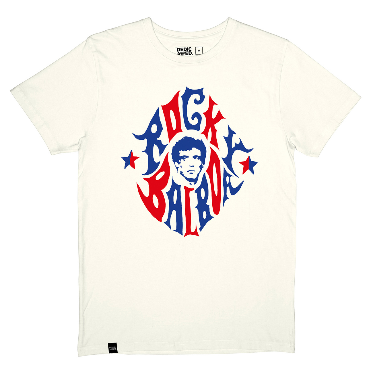 T-shirt Stockholm Rocky Balboa Off White