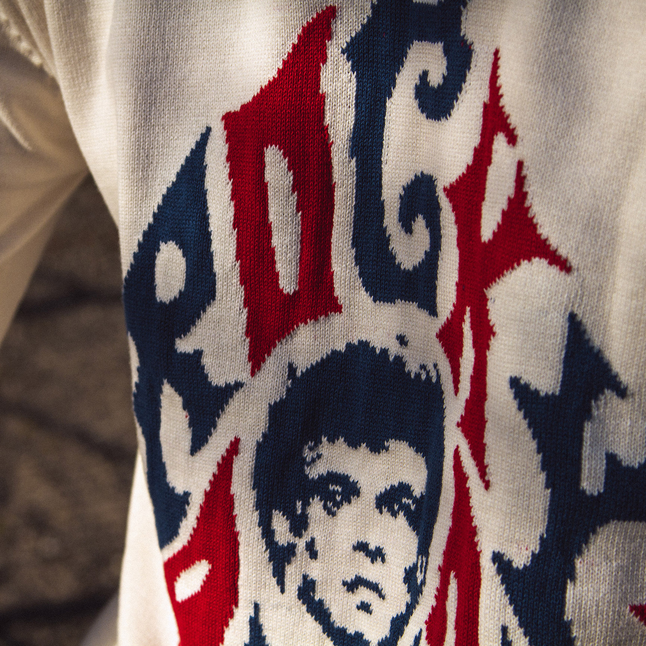Sweater Mora Rocky Balboa Off White