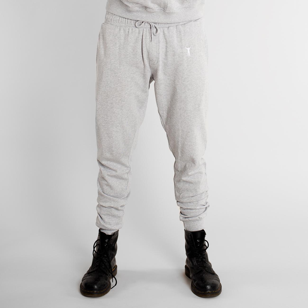 DEDICATED Joggers Lund Rocky Pose Grey Melange