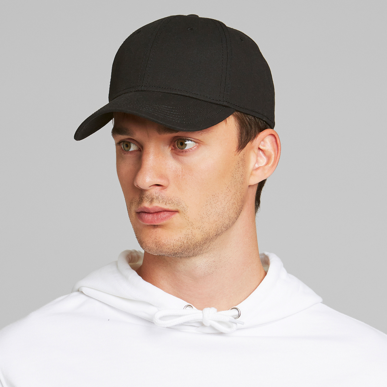 Sport Cap Solid Black