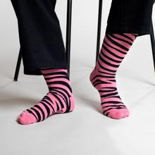 Socks Sigtuna Animal Pattern Pink
