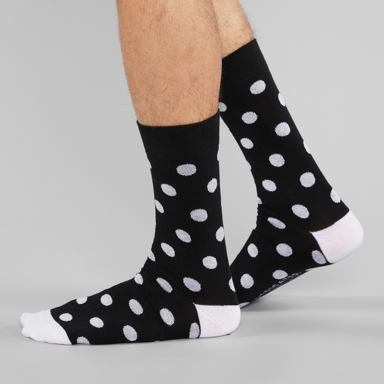 Socks Sigtuna Dots Black