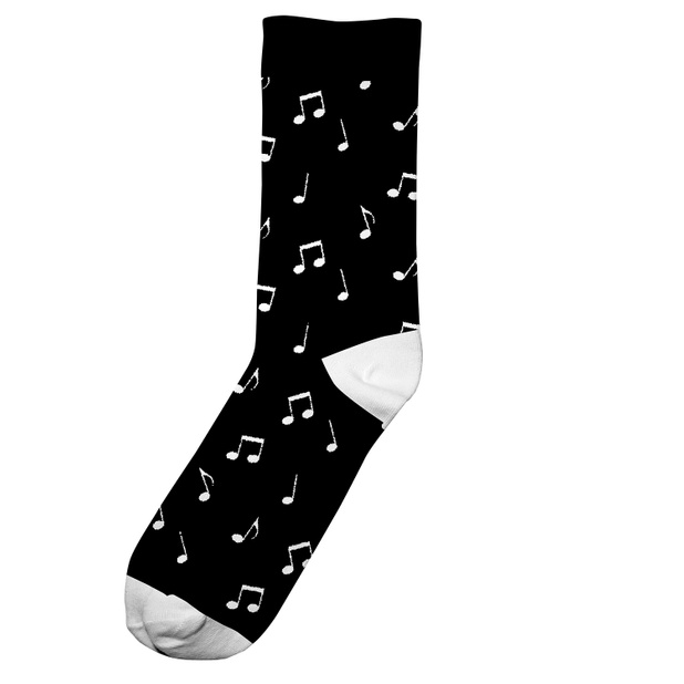 Socks Sigtuna Notes Black