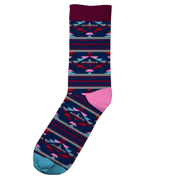 Socks Sigtuna Arizona Burgundy