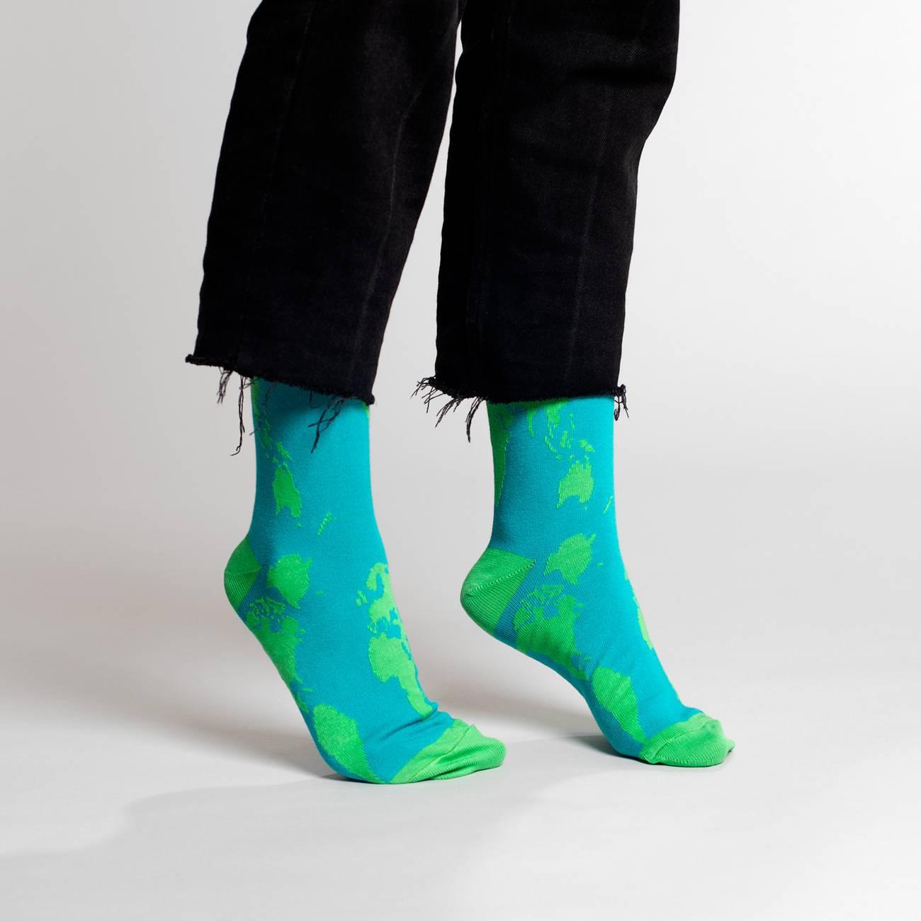 Socks Sigtuna World Map