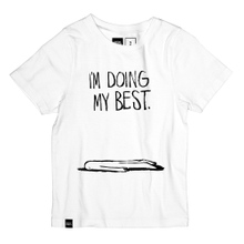 T-shirt Lillehammer Doing My Best White