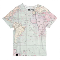 T-shirt Lillehammer Map