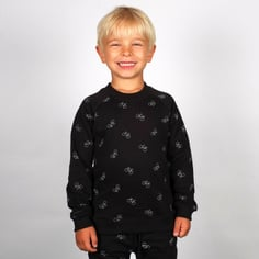 Sweatshirt Katthult Bike Pattern