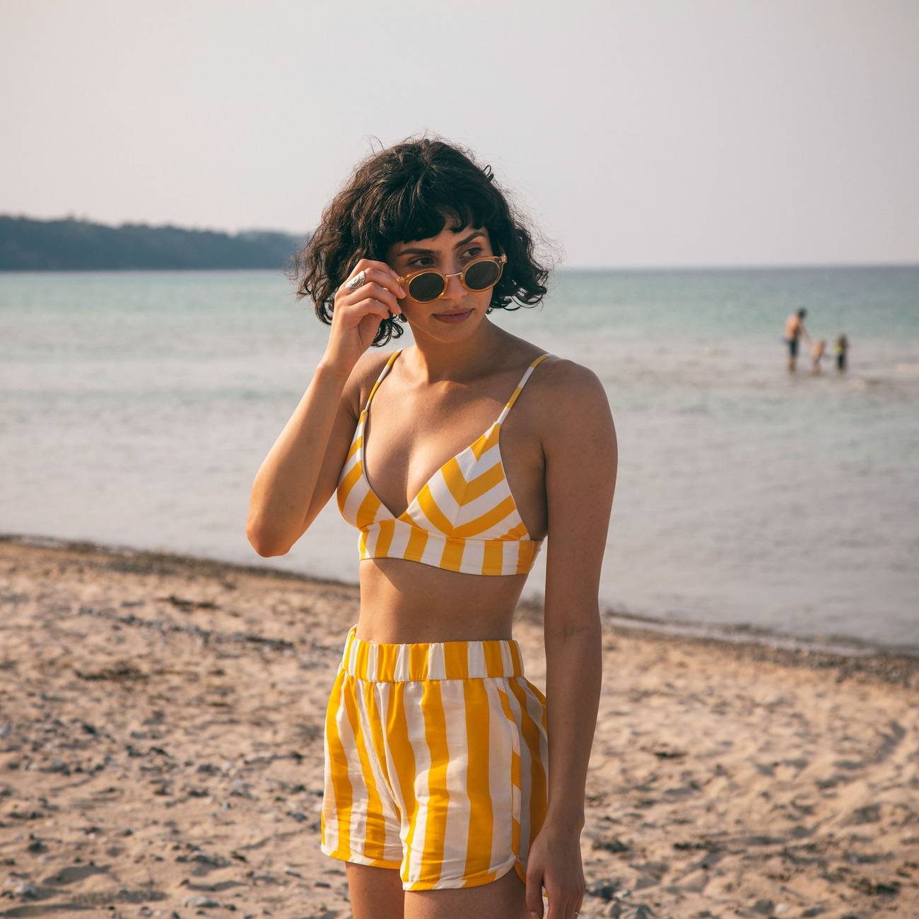 Bikini Top Hemse Big Stripes